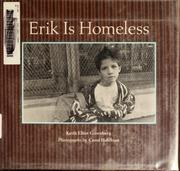 Cover of: Erik is homeless