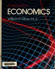 Cover of: Economics | William Albrecht, William P. Albrecht
