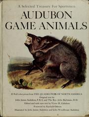 Cover of: Viviparous quadrupeds of North America: the quadrupeds of North America