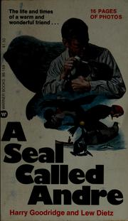 Cover of: A seal called Andre