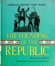 Cover of: The founding of the Republic