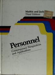 Cover of: Personnel | Robert L. Mathis