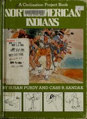 Cover of: North American Indians | Susan Gold Purdy