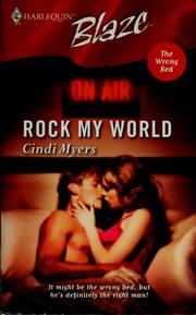 Cover of: Rock my world