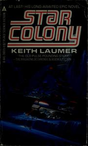 Cover of: Star colony | Keith Laumer