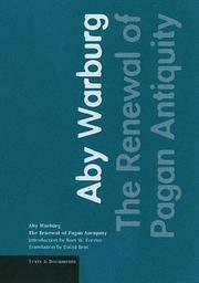 Cover of: The renewal of pagan antiquity