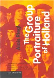 Cover of: The Group Portraiture of Holland (Texts & Documents)