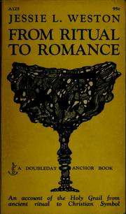 Cover of: From ritual to romance. | Jessie L. Weston