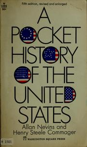 Cover of: A pocket history of the United States