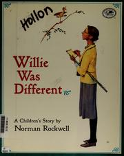 Cover of: Willie was different