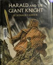 Cover of: Harald and the giant knight | Donald Carrick