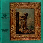 Cover of: The Italian paintings from the Mary and Harry L. Dalton Collection | Duke University. Museum of Art.