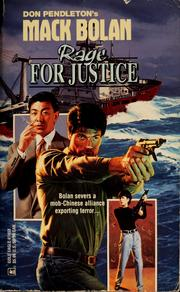 Cover of: Rage for justice | Don Pendleton