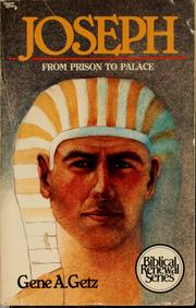 Cover of: Joseph, from prison to palace