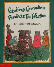 Cover of: Geoffrey Groundhog predicts the weather