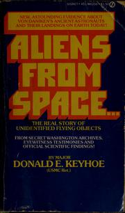 Cover of: Aliens from space