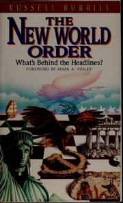 Cover of: The New world order | Russell Burrill
