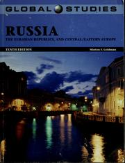 Cover of: Russia, the Eurasian republics and Central/Eastern Europe