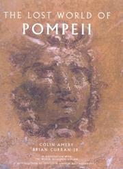 Cover of: The lost world of Pompeii