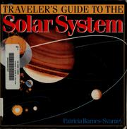 Cover of: Traveler's guide to the solar system