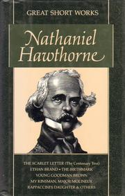 Cover of: Great Short Works of Nathaniel Hawthorne | Nathaniel Hawthorne