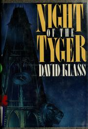 Cover of: Night of the tyger