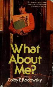 Cover of: What about me?