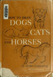 Cover of: How to draw dogs, cats, and horses