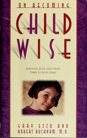 Cover of: On becoming childwise