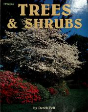 Cover of: Trees & shrubs | Derek Fell