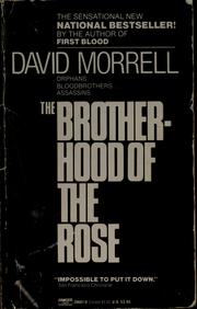 Cover of: The brotherhood of the rose