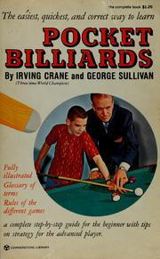 Cover of: The young sportsman's guide to pocket billiards