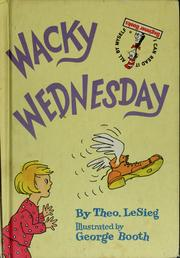 Cover of: Wacky Wednesday | Dr. Seuss