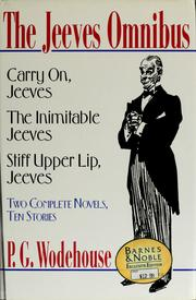 Image result for the jeeves omnibus book cover