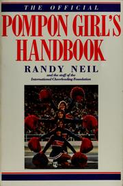 Cover of: The official pompon girl's handbook | Randy Neil