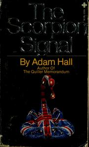 Cover of: The Scorpion Signal