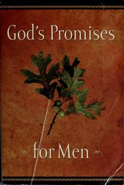 Cover of: God's promises for men |