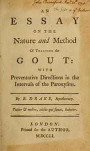 Cover of: An essay on the nature and method of treating the gout