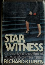 Cover of: Star witness