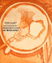 Cover of: Contemporary perspectives of biology | Robert W. Korn