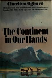Cover of: The continent in our hands