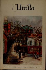 Cover of: Maurice Utrillo (1883-    ) | Utrillo, Maurice
