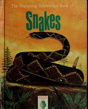 Cover of: The beginning knowledge book of snakes