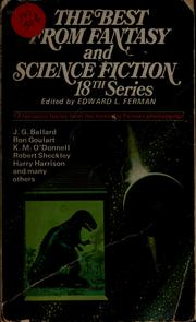 Cover of: The Best from Fantasy and Science Fiction, 18th Series
