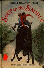 Cover of: Soup in the saddle