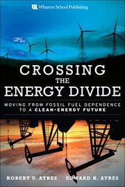 Cover of: Crossing the energy divide