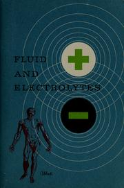 Cover of: Fluid and electrolytes | Abbott Laboratories