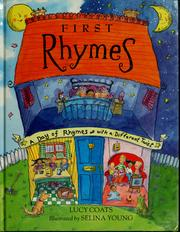 Cover of: First rhymes