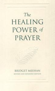 Cover of: The healing power of prayer