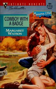 Cover of: Cowboy with a badge